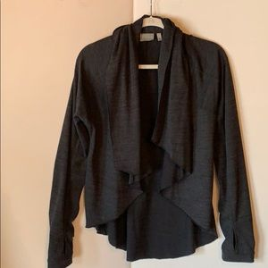 Athleta Jacket Cardigan Waterfall Front Size Small